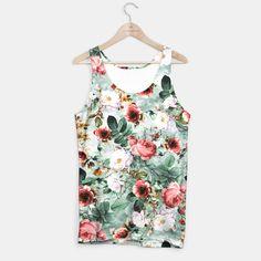 Rpe Seamless Floral Pattern I Tank Top #floral #fashion #pattern #spring #summer #design
