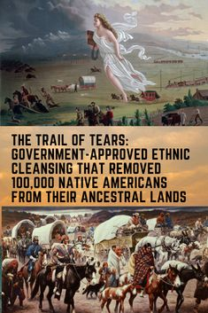 The Trail Of Tears Refers To The Perilous Journey Of The Five Civilized Tribes