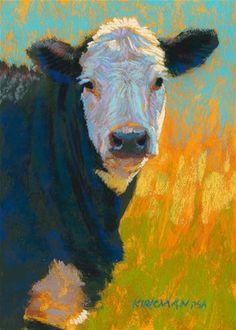 """Ham [Burger]"" - Original Fine Art for Sale - © Rita Kirkman"