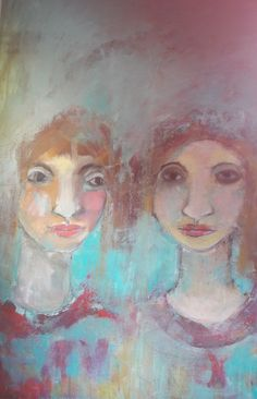 Sisters Acrylic on canvas