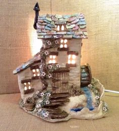 My dream house. Sallyamoss www.ceramiccrafts.com