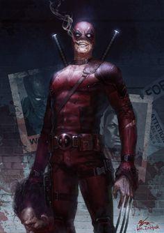 Deadpool: Who's Next?, InHyuk Lee on ArtStation at https://www.artstation.com/artwork/6B0Bw
