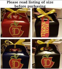 Disney Descendants 12pc Favor Boxes *** Free Shipping***