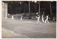 Photographie Anonyme Vintage Snapshot Royan Pelote Basque Sport | eBay