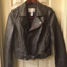 Bar III NWT motto jacket size M NWT jacket has buckle detail at waist and 2 front pockets size M tags attached no flaws Bar III Jackets & Coats