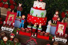40 Ideias de Decoração de Festa da Chapéuzinho Vermelho