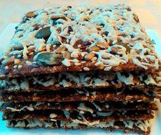 Lapka kenyér Low Sugar, Crackers, Paleo, Low Carb, Gluten Free, Bread, Food, Glutenfree, Pretzels