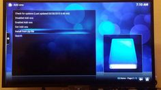 How to install the new AAA stream 2015 on xbmc .