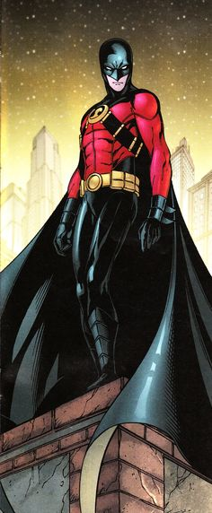 """Tim Drake as Red Robin"" I was really ticked when they rebooted the DCU, because Tim really came into his own in this series."