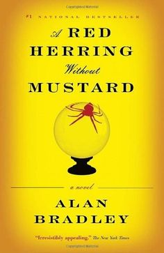 A Red Herring Without Mustard, the third Flavia de Luce mystery! I love these books! They are a nice light read with great characters and humour.