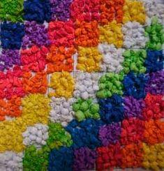 Origen y significado de la wiphala. Diferentes técnicas plásticas para armar una wiphala. Urban Design Diagram, Cultural Diversity, Box Art, Pixel Art, Culture, Teaching, Blanket, Deco, Crochet