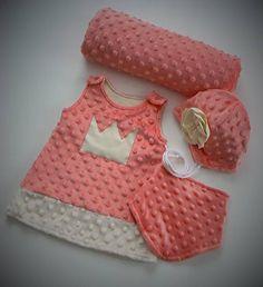 Ciapockovo / Súprava pre novorodeniatko dievča Ale, Rompers, Sewing, Children, Accessories, Dresses, Fashion, Young Children, Vestidos