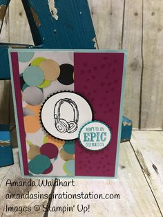 Love the Epic Celebration stamp set. Did you know you can have this stamp set for FREE? Yup this is a Sale-a-bration item. So with a $50 purchase in Stampin' Up! Occasion or annual catalog yo…