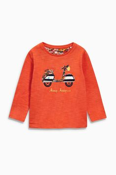 Buy Red/Navy Long Sleeve Tops Three Pack (3mths-6yrs) from the Next UK online shop