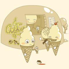 Human ice cream