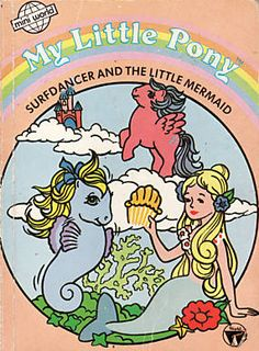 My Little Pony Mermaid Coloring Book