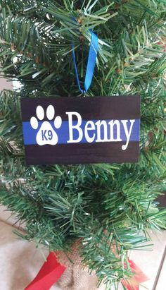 Check out this item in my Etsy shop https://www.etsy.com/listing/253722822/thin-blue-line-k9-christmas-ornament-k9