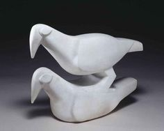Doves sculpture by Jacob Epstein