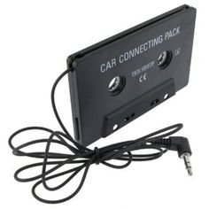 This is awesome.  Anyone from the 80's remember these things?  I think those with an iPod don't have cassettes anymore.  :)
