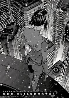 anime, cyberpunk, and ghost in the shell imageの画像 Manga Girl, Manga Anime, Anime Art, Manga Cover, Character Art, Character Design, Masamune Shirow, Motoko Kusanagi, Arte Cyberpunk