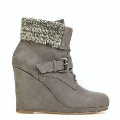 ShoeDazzle Booties Dinah Womens Gray ❤ liked on Polyvore featuring shoes, boots, ankle booties, booties, grey, grey booties, gray boots, grey ankle booties, cold weather booties and grey boots