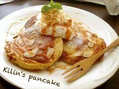 簡単!カフェ風ふわふわパンケーキ♪の画像