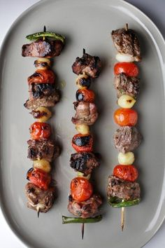 Lebanese lamb dishes with a Southwestern spin, for grilling season Soup Starter, Lamb Kebabs, Lamb Dishes, Paleo Recipes, Chef Recipes, International Recipes, Us Foods, Soul Food, Grilling