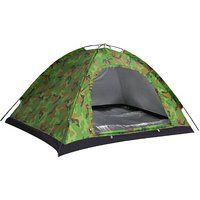On sale Outdoor Waterproof Camping Tents For 2 People Camouflage Black friday