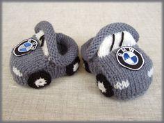 Ravelry: oxana's BMW car baby booties