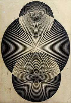 Vintage book cover graphics from the collection of Julian Montague Title: Paul. Op Art, Art Furniture, Geometric Art, Optical Illusions, Sacred Geometry, Textures Patterns, Line Art, Dieselpunk, Graphic Design