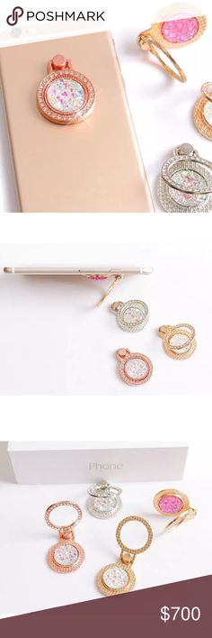 816ac07a6c Bedazzled Jewel Phone Ring New in package. Slip this onto your phone to add  style