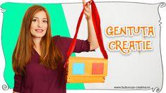 Cum sa faci o geanta creatie ✂🎀📐 how to make a craft bag Craft Bags, Crafts For Kids, How To Make, Crafts For Children, Kids Arts And Crafts, Kid Crafts, Craft Kids