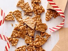 Chile-Cinnamon Brittle with Mixed Nuts Recipe : Rachael Ray : Food Network - FoodNetwork.com
