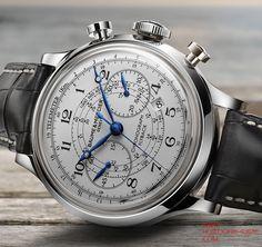 Montres Baume & Mercier 2011 - Baume & Mercier Capeland Flyback - Photos de montres