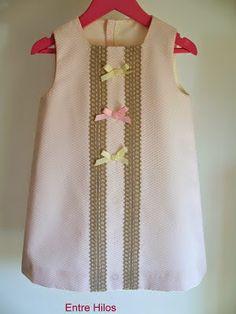 PAP de vestido para menina