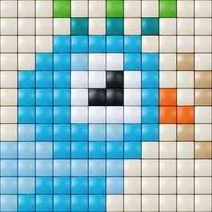 #pixelhobby #pixelgift #vogeltje
