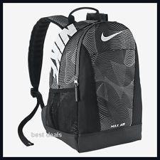 NIKE BA 4736 MAX AIR GRID Backpack BAG BLACK SMALL BRAND NEW FREE FAST  SHIPPING Vacation 63acbb88c2b9e