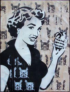 decent stencil art