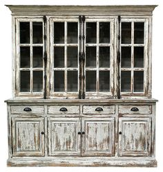 One Kings Lane - What You've Been Missing - Windsor Hutch Cabinet