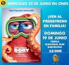 La Henryteca del Cine: Concurso Buscando a Dory, entrada cuádruple en Bar...