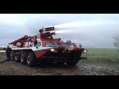 "Russian fire engine vehicle ГАЗ-59402 ""Пурга"""
