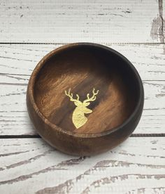 A personal favorite from my Etsy shop https://www.etsy.com/listing/267024756/jelwery-bowl-ring-dish-wooden-deer