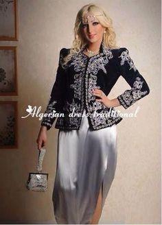 AlgerianTraditionalDresses karakou Algiers dress