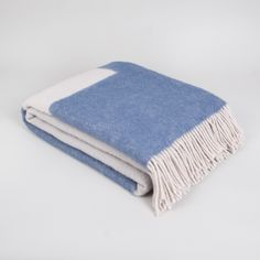 Wrap up in our New Zealand Wool Abstract Oasis Blanket by Forestry Wool