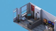 My animated apartment - work in progress on Vimeo