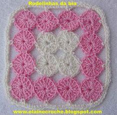 como unir flor de quatro pétalas passo a passo de croche - Pesquisa Google