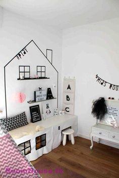 Kids room ideas – Home Decor Designs Diy Home Decor Bedroom, Kids Bedroom, Nursery Decor, Girl Room, Baby Room, Ikea Stuva, Kids Play Spaces, Kids Corner, Kids Decor