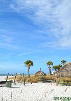Beautiful Beach Bar - Rum Runners  #beach #bar #resort #blue #fun #drinks #tropical #stpete #florida #tampa #clearwater #paradise #lounge #family #vacation