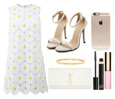 """""""Hi guys, Have a good day!!"""" by elizabeth-0716 on Polyvore featuring moda, Dolce&Gabbana, Yves Saint Laurent, Clarins, Tom Ford y Incase"""