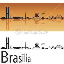 Resultado de imagem para tatuagem brasília skyline